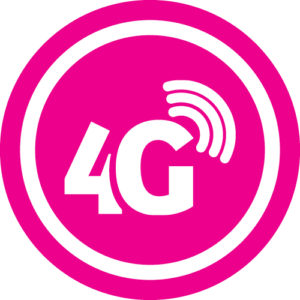 4g pink icon
