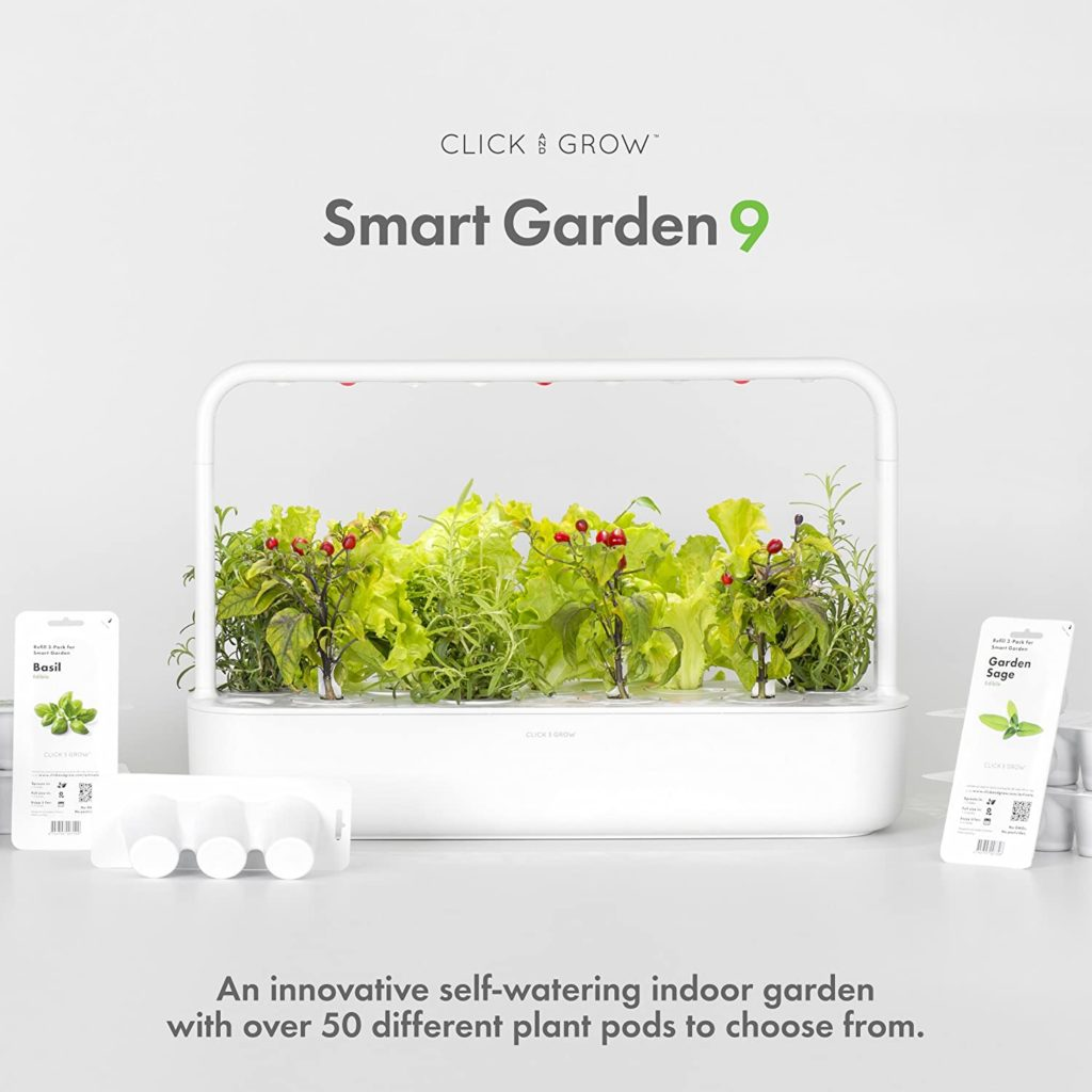 Smart Hydroponics Self-watering indoor garden