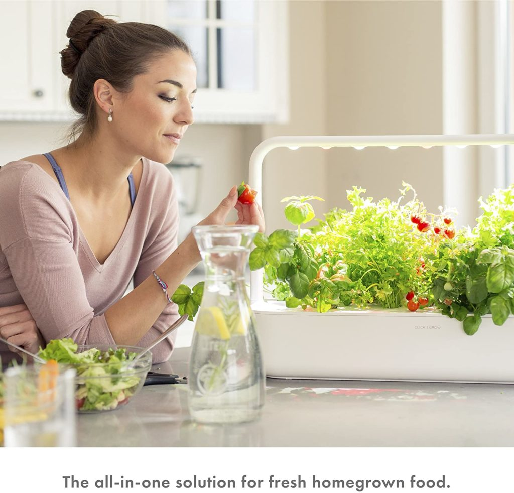 Smart Hydroponis system All in one solution for fresh homegrown food