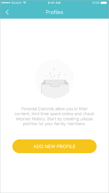 Create profiles for family members and specify the devices that belong to them. Set individualized parental controls including when and for how long each person can access the internet. Block inappropriate content and pause the internet if necessary.