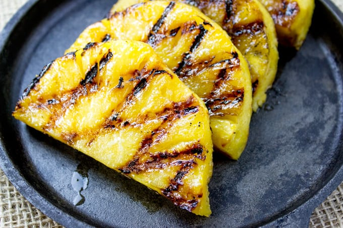 BBQ Grilled Pineapple with Canola