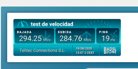 Telitec Speed test
