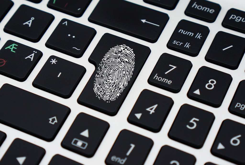 Fingerprint security, an alternative to a password