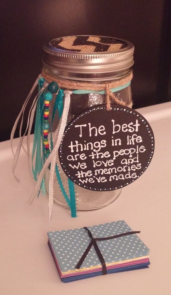 Memory Jar, a new year eve tradition is to read your memories from the year and share with your friends and family