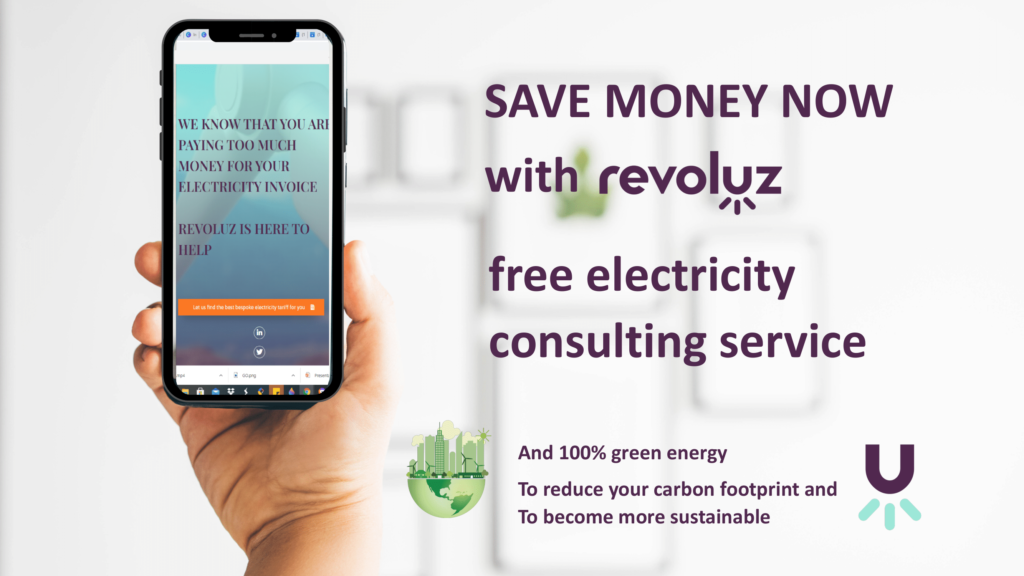 Bespaar geld op elektriciteit met Revoluz