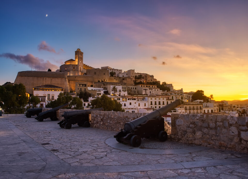 Dalt Vila, Once one of the most important coastal cities in the Mediterranean.